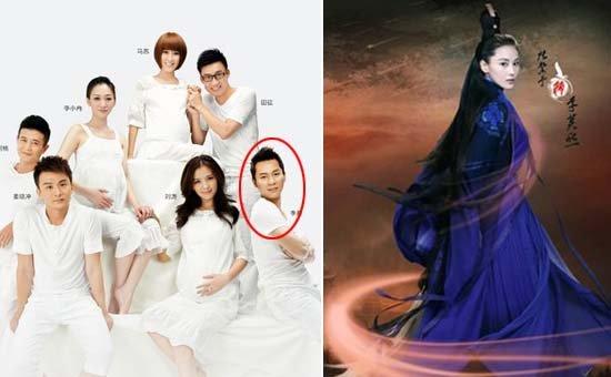 相对于张馨予出演多个话题角色,李晨新作寥寥