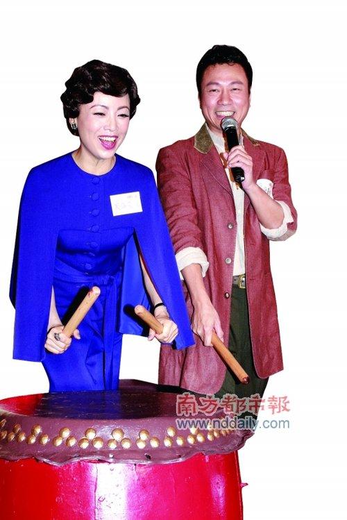 """佘诗曼陈豪运势强劲 颁奖礼恐成""""分猪肉大会"""""""