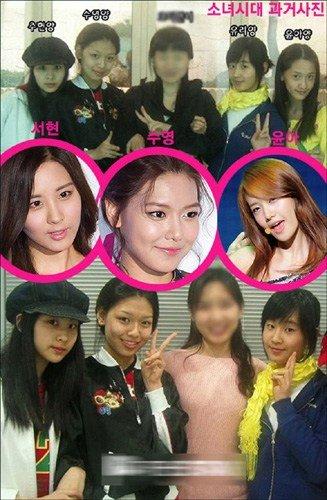为题,在韩国某论坛上传了据推测是少女时代成员7年前练习生时期的