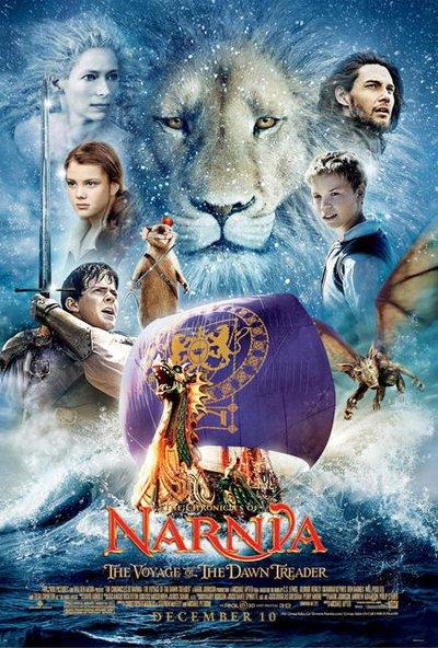 韩国票房:《纳尼亚3》夺冠 林秀晶新片失利