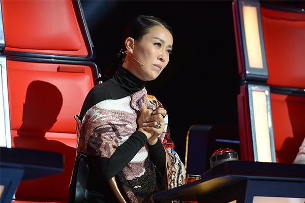 《好声音》今现最催泪歌手 杨坤飙泪那英哭花妆