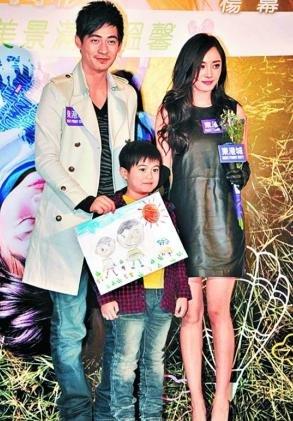 《新天生一对》香港宣传 杨幂认见过刘恺威父母