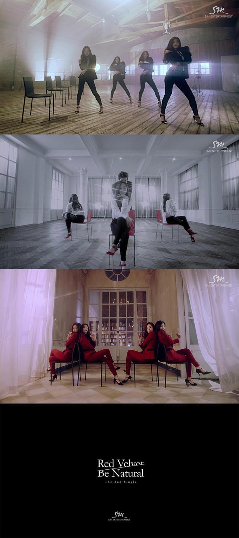 SM新女团RedVelvet成熟性感MV 狂扭椅子爵士舞