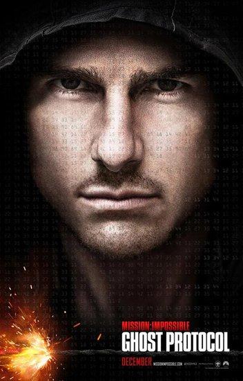 《碟中谍4》发首款海报 汤姆·克鲁斯独撑场面