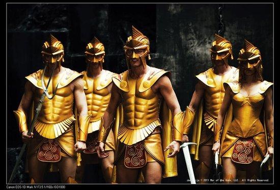 《惊天战神》:众神怒 战争起
