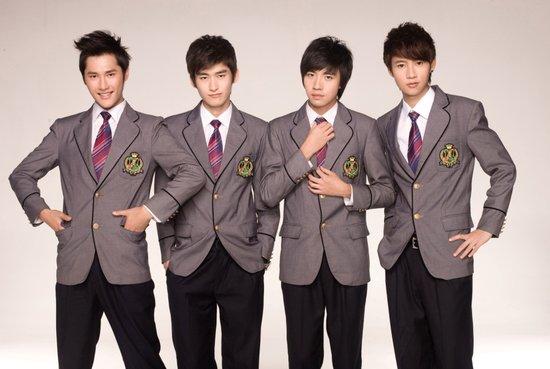 湖南卫视版F4集体变身主持 与李湘搭档新节目