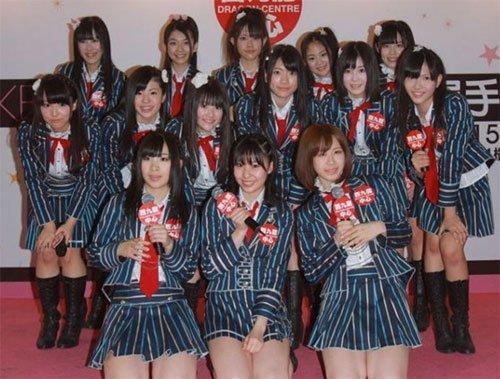 日本团体AKB48在台专卖店被曝违法 紧急撤店