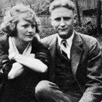畅销小说《大亨小传》作者Scott Fitzgerald和他妻子Zelda