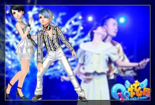 《舞林大会》携手QQ炫舞 与明星共舞选拔赛开幕
