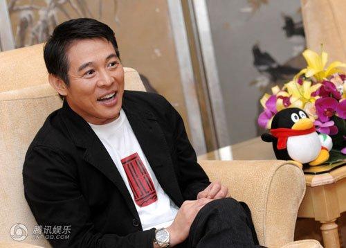 独家专访李连杰:想通过电影温和的改进社会