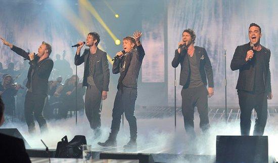 Take That五人重聚首 有望再创唱片销量新高