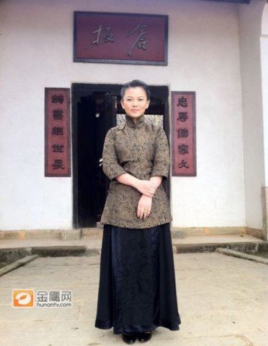 组图:李湘出演《建党伟业》 扮端庄老师造型曝光
