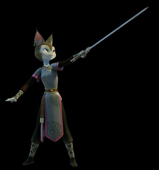 资料:国产3D动画大片《兔侠传奇》——牡丹