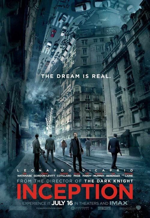 诺兰执导《盗梦空间》折桂2010年好莱坞电影奖