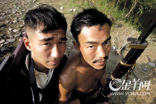 """廖凡、张默《让子弹飞》做姜文""""兄弟""""很刺激"""