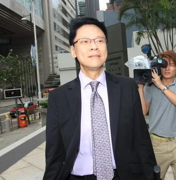 李宝安下属陈志云案法庭抄笔记 疑为出庭作准备