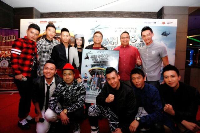 电影《新兵正传3蛙人传》3月19日马来西亚上映