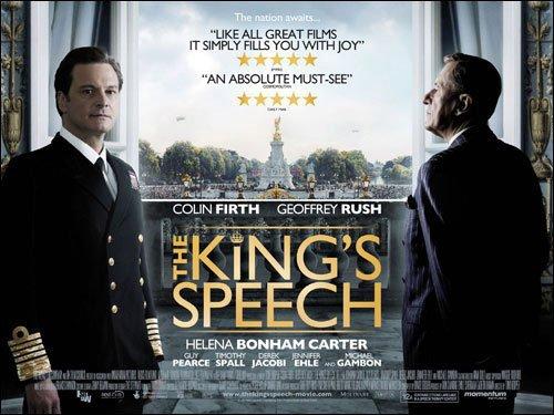 第83届奥斯卡提名公布 《国王的演讲》12项领跑
