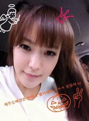 组图:韩第一美女金喜善公开近照 秀可爱发型