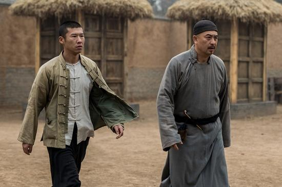 王骁《白鹿原》历时227天杀青 画面都是回忆