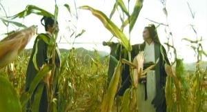 新水浒传穿帮镜头引热议 玉米穿越文身褪色(图)