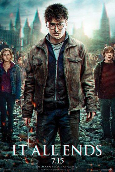 《哈7下》全球票房超十亿美元 于明天内地公映