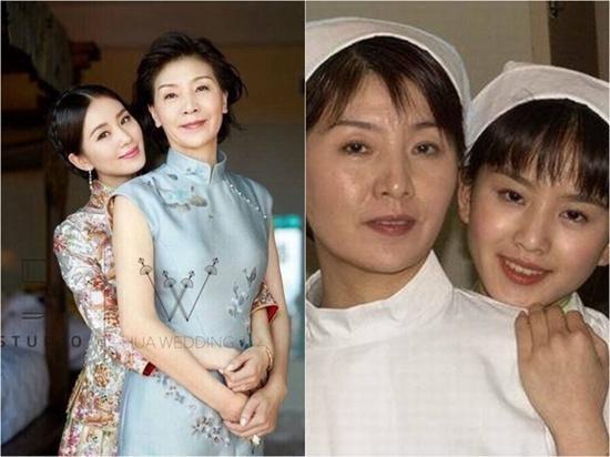 刘诗诗和妈妈曾合作拍戏 昔日温婉旧照曝光