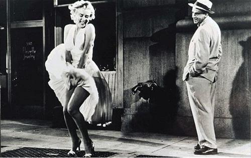 玛丽莲・梦露主演的经典电影《七年之痒》