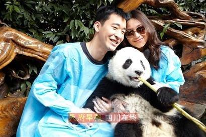 徐静蕾新片《亲密敌人》最后一场戏拍熊猫