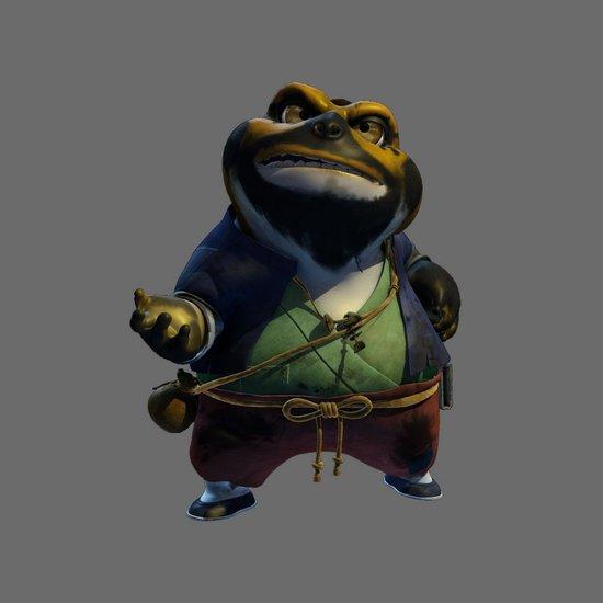 资料:国产3D动画大片《兔侠传奇》——胖强盗