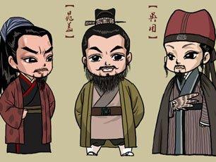 Q版吴用风靡网络-新版水浒图片