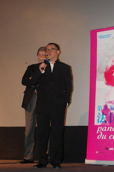 法国电影展万达影城隆重开幕 王小帅等到场助阵
