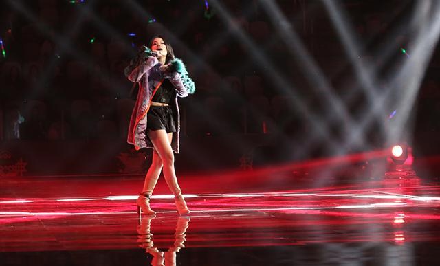 万妮达惊艳亮相上海 实力女Rapper燃爆盛典