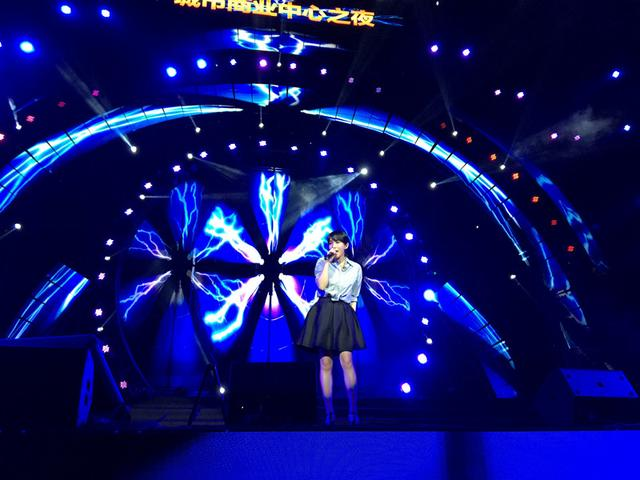 齐秦携众星唱响赣州 新生代歌手莫龙丹热力开唱