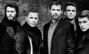 Take That五人合体 新唱片破十年首日销售记录