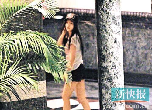 林峰被曝暗搭内地足球宝贝刘羽琦 呆寓所玩通宵