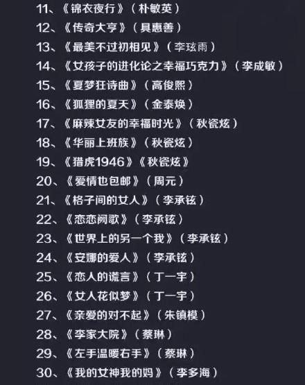 """再曝疑似""""禁韩令""""名单 42名艺人53部剧遭封杀"""