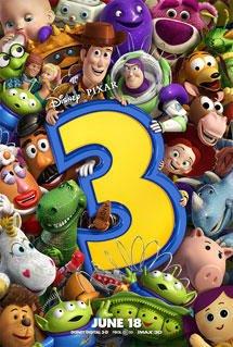 《玩具总动员3》有望打破皮克斯动画片票房纪录