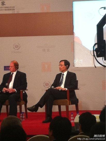 任仲伦:国内外进入良好合作 上海愿提供平台