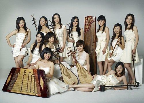 女子十二乐坊十周年献大礼 首席琵琶石娟将发片