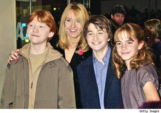 《哈利·波特》众星走红毯十年前旧形象对比(图)