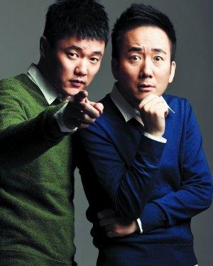"""肖央,王太利组成的""""筷子兄弟""""走红网络.图片"""