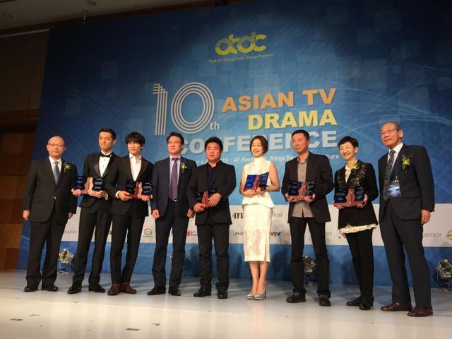 胡歌凭获亚洲特别贡献奖 全程英文演讲引尖叫