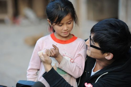 胡歌担任爱心大使 呼吁大家共同关注贫困学生