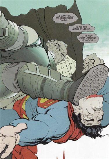 漫画中的蝙超大战:蝙蝠侠完虐超人?你逗我?蛇骑谁漫画羊我迷图片