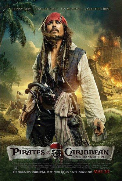 《加勒比海盗4》发制作花絮 大场面动作戏曝光