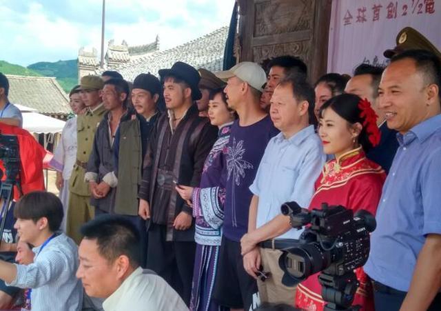 《白鹿原.黑娃演义》在陕西白鹿原影视城开机