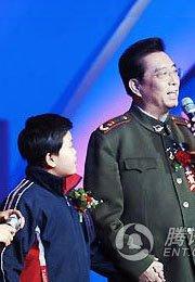 父子同台献唱