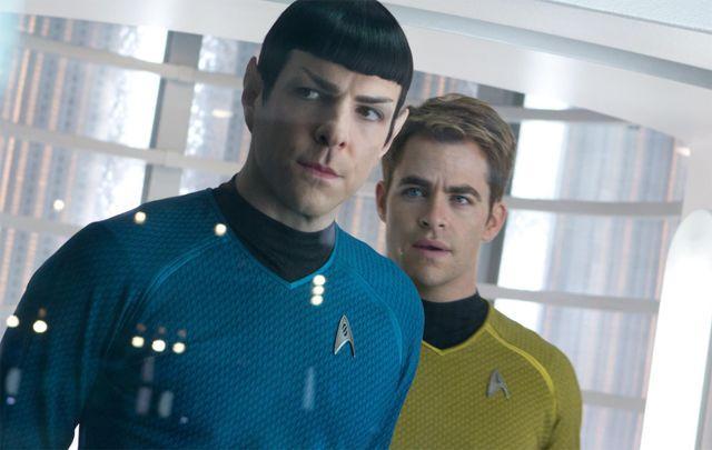 """太空版""""速激"""":打开《星际迷航3》的正确姿势  此外,前文所说的史波克图片"""