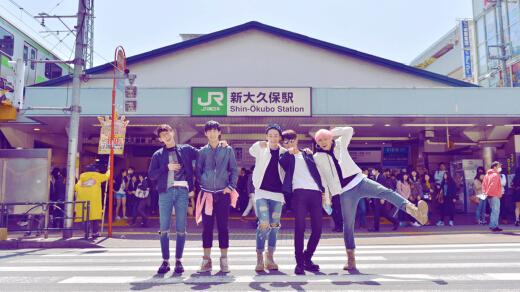 CIRCUS CRAZY发行《少年的日记》韩国正式出道